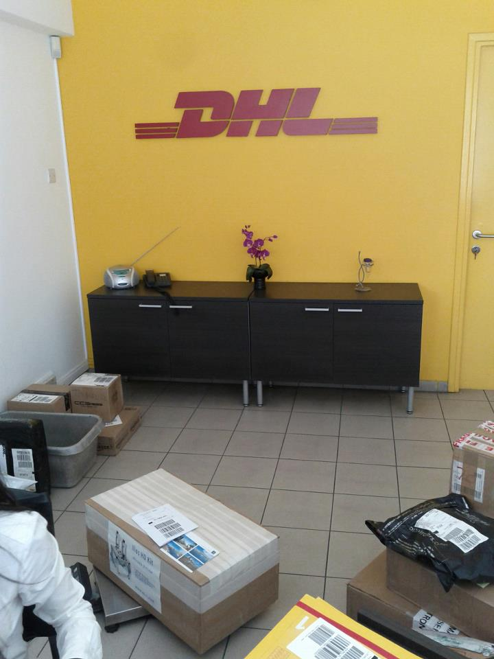 Ilios kits getting shipped through DHL